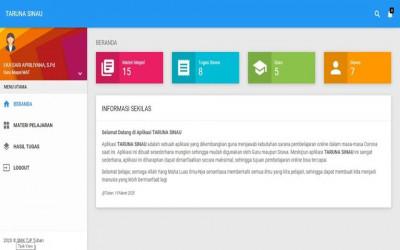 Taruna Sinau (Aplikasi Pembelajaran Online)